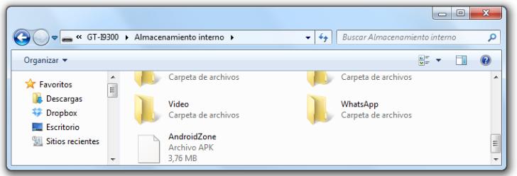 Instalar Aplicaciones APK en Android : APK SD