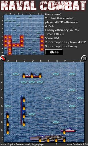 Batalla Naval para Android 1
