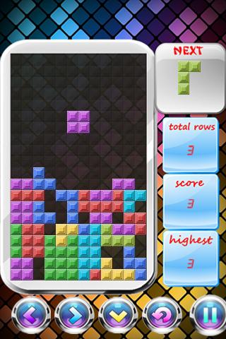 Tetris para Android 1