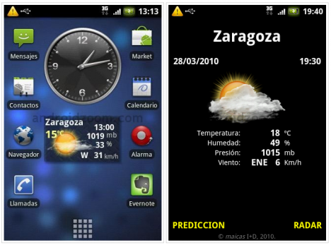 meteo-widget-android