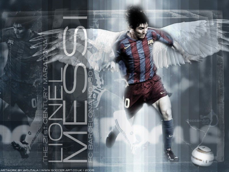 Wallpaper Lionel Messi 1024 x 768