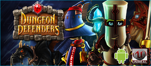 Dungeon Defenders First Wave logo