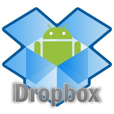 dropbox android logo