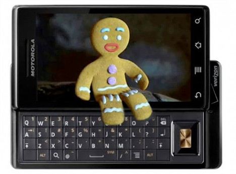 motorola droid-gingerbread