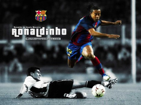 wallpaper-barcelona ronaldinho 1024 x 768