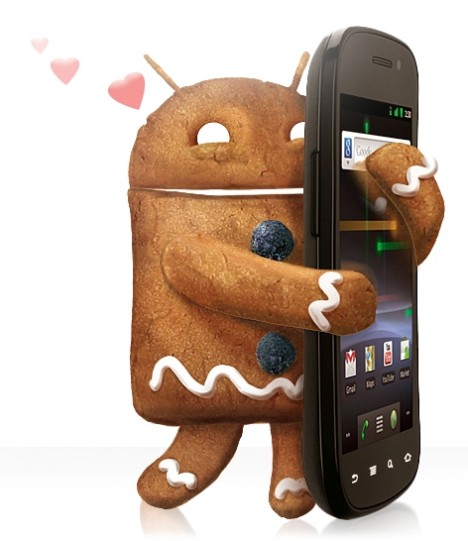 Gingerbread Nexus S