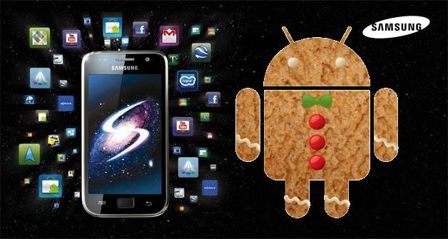 Los Samsung Galaxy S se actualizarian a Android 2.3 Gingerbread en marzo