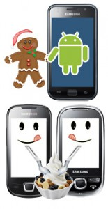 Gingerbread Samsung