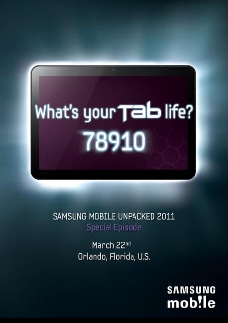 Nueva Galaxy Tab