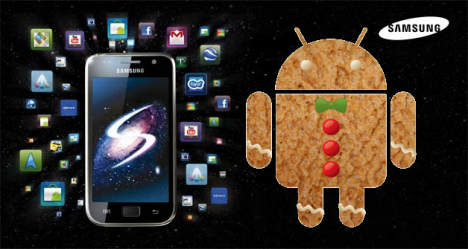 samsung galaxy-s gingerbread