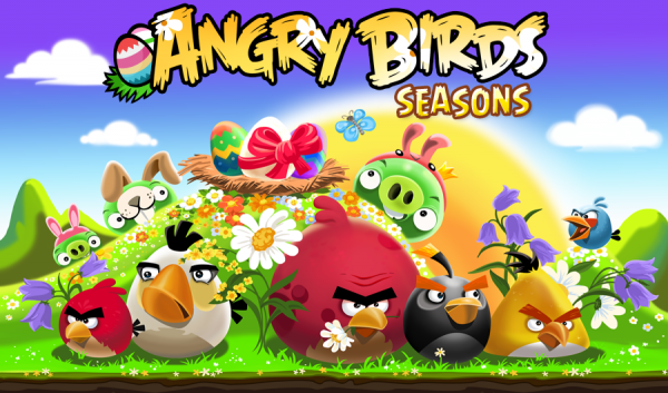 Angry Birds Seasons Easter Egg