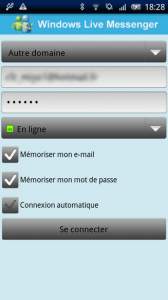 Windows Live Messenger Android