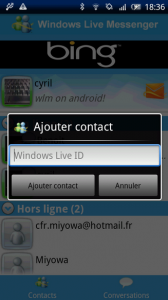 Windows Live Messenger Android-3