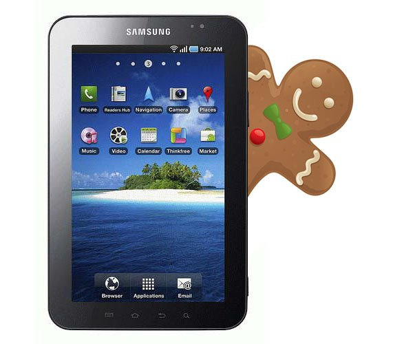 Samsung Galaxy Tab (P1000) a Android 2.3.3 Gingerbread - Android Zone