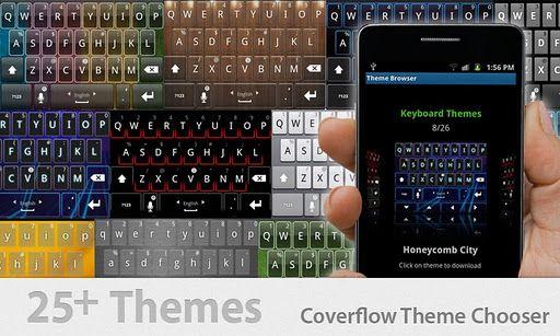 Thumb Keyboard Temas