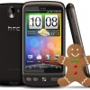 Finalmente HTC Desire sí se actualizara a Android 2.3 Gingerbread