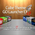 Cube Theme 4 GO Launcher EX Android-2