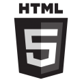 HTML5_1Color_Black