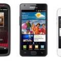 iPhone 4S vs Samsung Galaxy S2 vs HTC Sensation