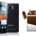 Samsung Galaxy S2 con Ice Cream Sandwich vs Gingerbread