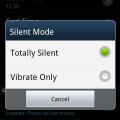 Silent Sleep – modo silencioso automático