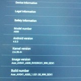 Acer Iconia A500 se actualiza a Android 4.0.3 Ice Cream Sandwich