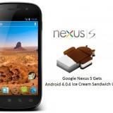 Sprint libera la actualizacion OFICIAL a Android 4.0 ICS para el Nexus S 4G