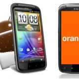 HTC Sensation ICS Orange