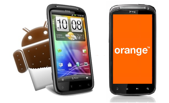 España: HTC Sensation Orange por fin se actualiza a Android 4.0.3 Ice Cream Sandwich
