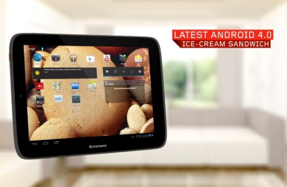 Nueva tablet Lenovo IdeaTab S2109 con Ice Cream Sandwich
