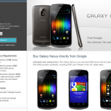 Galaxy Nexus disponible por $ 399 en la tienda Play