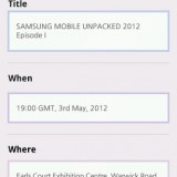 SAMSUNG mobile UNPACKED 2012 4