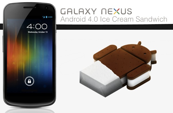 Tutorial: Actualizar Samsung Galaxy Nexus a Android 4.0.4 Ice Cream Sandwich via OTA en España