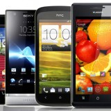 Smartphones Android Gama media