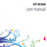Samsung Galaxy S3 – Manual de Usuario