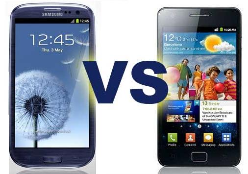 Video: Samsung Galaxy S3 VS Samsung Galaxy S2