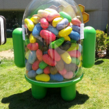 android jelly bean estatua (3)