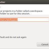 Selector workspace eclipse