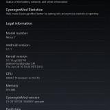 cyanogenmod 10 google nexus 7
