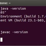 Versión de java en la terminal de Ubuntu