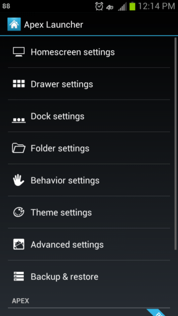 APEX LAUNCHER DOWNLOAD FOR JELLY BEAN ANDROID 4.1 (APK)
