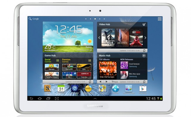VIDEO: SAMSUNG GALAXY NOTE 10.1 OFICIAL