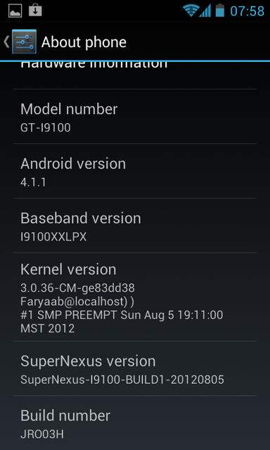 Galaxy S2 SuperNexus-4