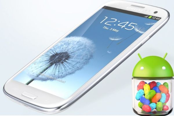 Android 4.1.1 Jelly Bean disponible para Samsung Galaxy S3 (Versión de prueba)