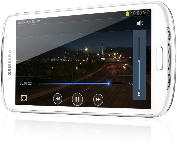 Samsung Galaxy Player 5.8, un nuevo reproductor multimedia Android
