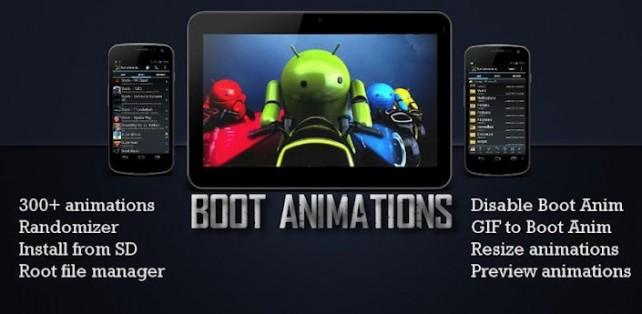 Boot Animation : cambia la animacion de inicio de Android