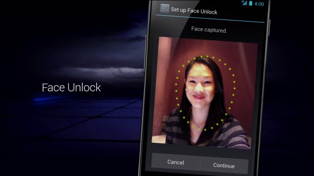 VIDEO: UNLOCK FACE OF JELLY BEAN MOCKED ANDROID