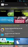 Google Play sección recomendaciones