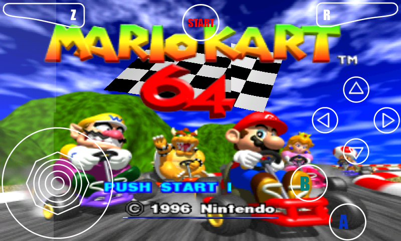 portada super mario kart racing