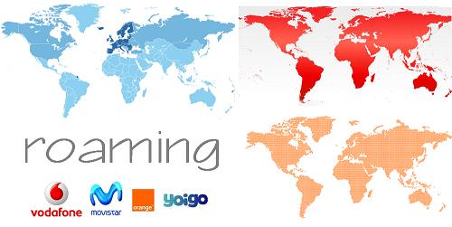 Roaming distintas compañías